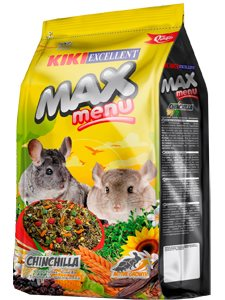 KIKI MAX MENU CHINCHILLAS 800 gr.