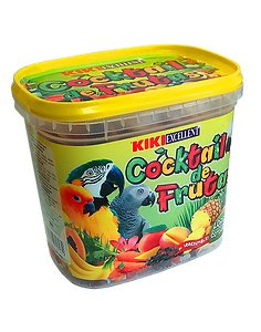 KIKI COCKTAIL FRUTAS LORO 300 gr.