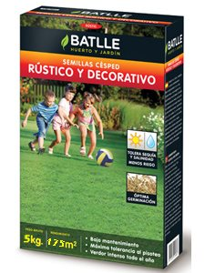 CESPED RUSTICO Y DECORATIVO 5 Kg.